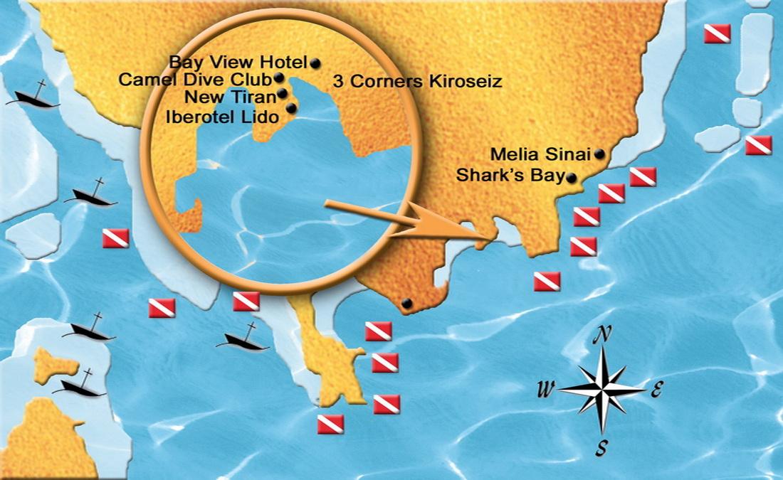 Duikvakantie sharm el sheikh diving world duikvakanties - Camel dive hotel ...